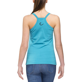 Edelrid Kiddo - Camisa sin mangas Mujer - azul